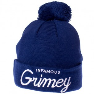 Grimey Infamous Ball Hat Navy