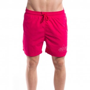 Grimey Night Crawler Swimming Shorts Fuchsia