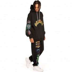 """Pack Grimey Pant + Hoodie """"Destroy All Fear"""" - Black 