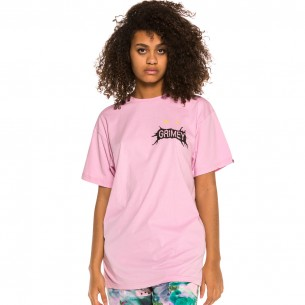Grimey Face Your Fear Unisex Tee SS20 Pink