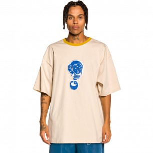 """Grimey """"Singgang Junction Heavy Weight"""" Tee - Sand 