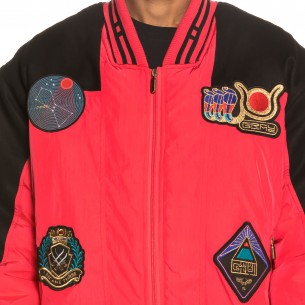 Engineering Bomber Jacket FW19 red