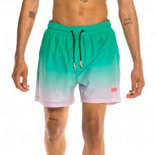 Grimey Yanga Swimming Shorts Gradient SS20 Green