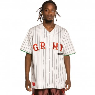 """Grimey """"The Loot"""" Baseball Jersey White 