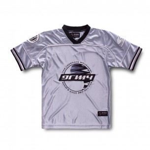 Football Grimey Acknowledge Jersey SS20 Silver