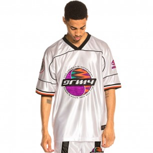 Football Grimey Acknowledge Jersey SS20 White