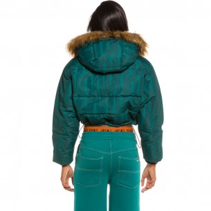 Grimey Nite Marauder Girl Puffy Jacket FW20 Blue