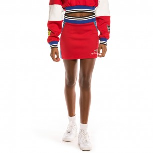 Grimey Arch Rival Mini Skirt FW20 Red