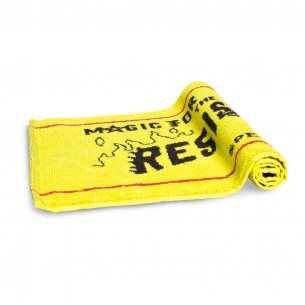 Grimey Liveution Beer Towel Spring 21 Yellow