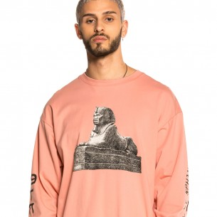 Grimey Call of Yore Long Sleeve Tee FW20 Pink
