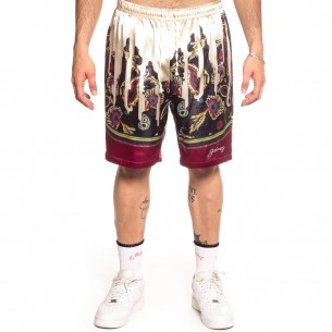 """Grimey """"Hope Unseen All Over Print"""" Shorts - White 