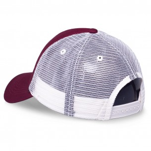 Grimey Call of Yore Trucker Curved Visor Cap FW20 Wine