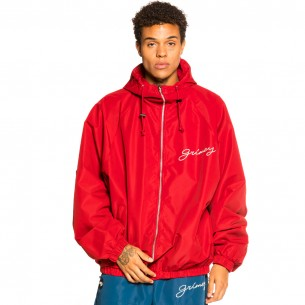 """Grimey """"Martinica Fact"""" Track Jacket - Red 